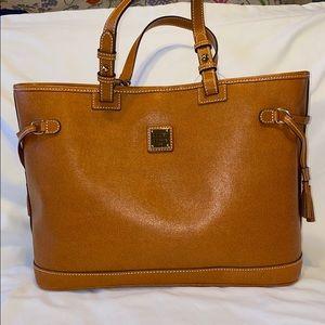 NWT Dooney & Bourke Double Strap Tassel Bag